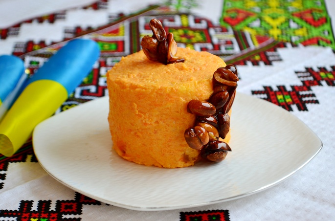 Тыквенный пирог с орехами