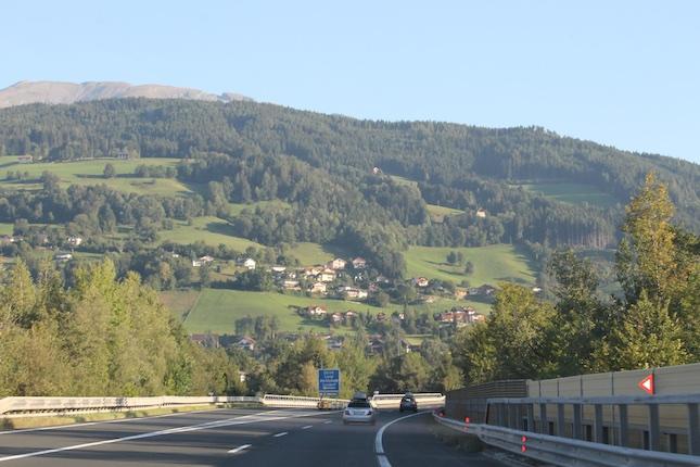 Дорога в Италию