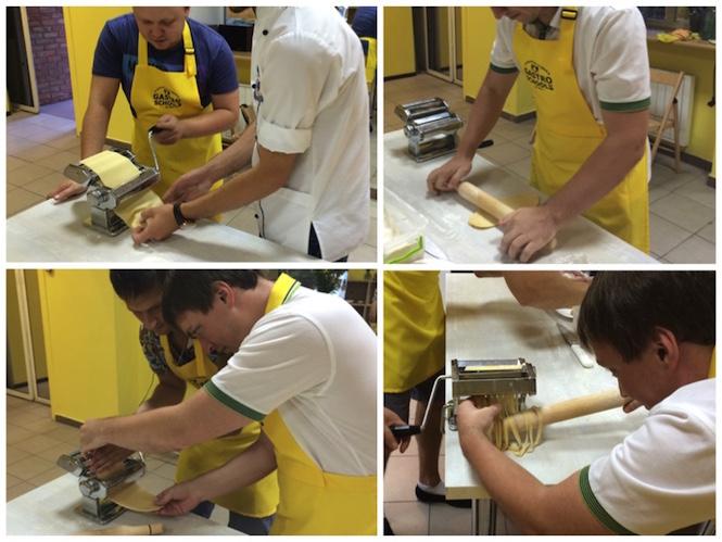 Приготовление пасты