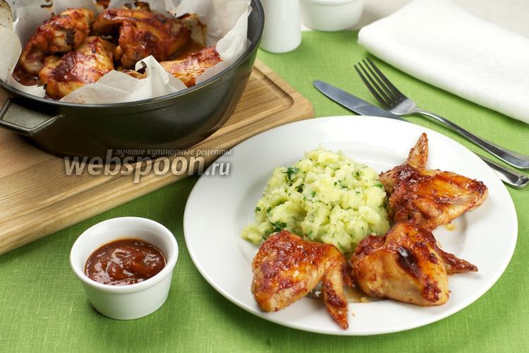 Рецепт Куриные крылышки в медовом соусе