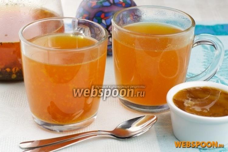 Фото Чай с облепихой