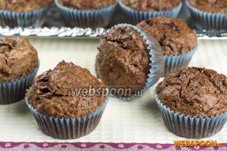 Фото Шоколадные кексы