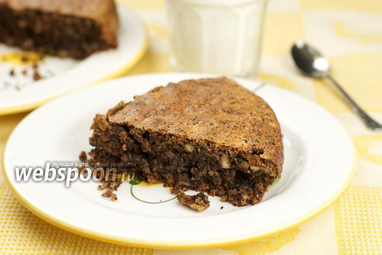 Рецепт Шоколадный пирог «Ореховый»