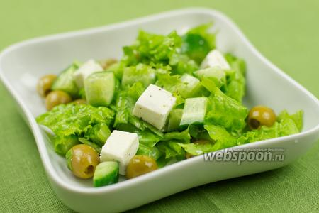 Салат Греческий зелёный