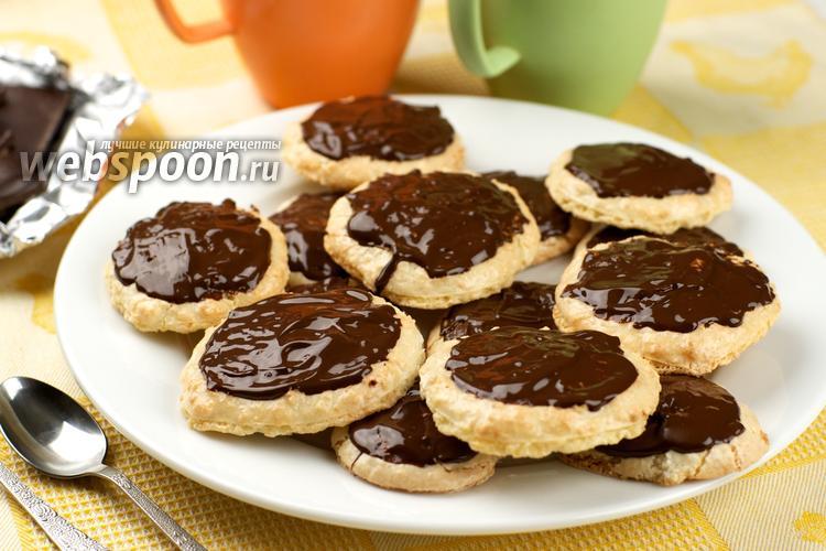 Рецепт Печенье «Кокосовые тучки»