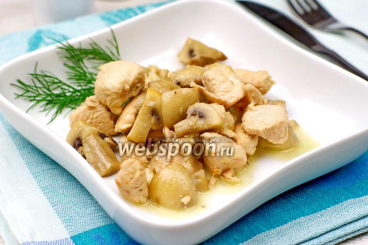индейка с грибами рецепты приготовления в духовке