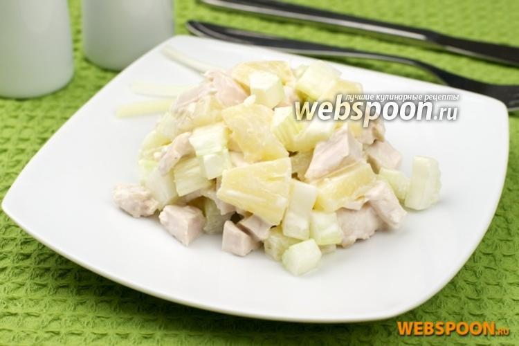 курица с консервированными ананасами в духовке рецепт с фото пошагово