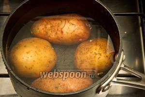 Картофель без всего варить