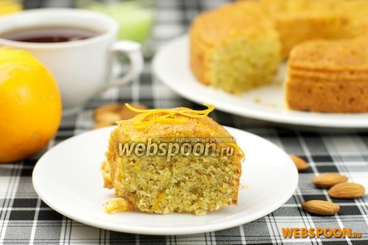Фото Апельсиновый кекс из кукурузной муки