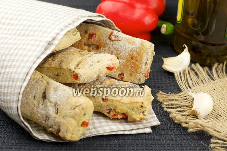 Фото Снек с овощной начинкой
