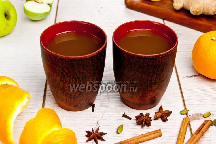 Фото Осенний пряный напиток
