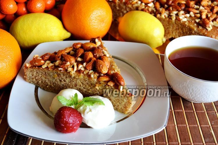 Фото Греческий медовый пирог