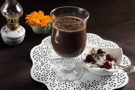 Какао с геркулесом и пряностями