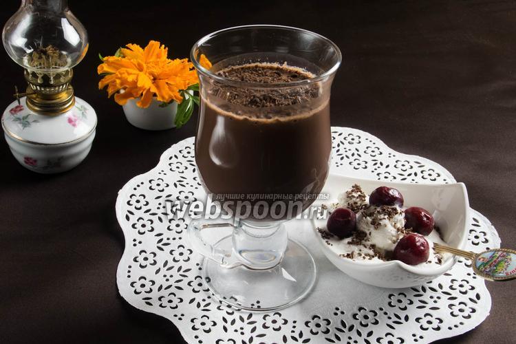 Фото Какао с геркулесом и пряностями