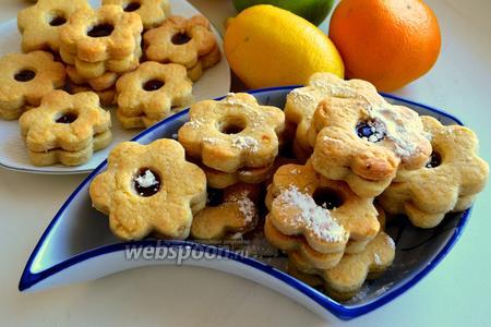 Печенье с вареньем «Англси»