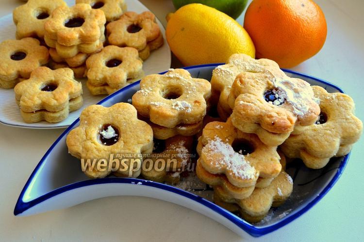 Рецепт Печенье с вареньем «Англси»