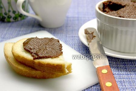 Паста шоколадно-банановая