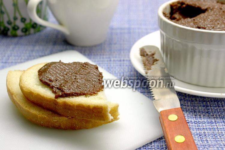 Фото Паста шоколадно-банановая