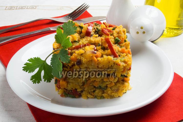 Фото Чечевица с овощами