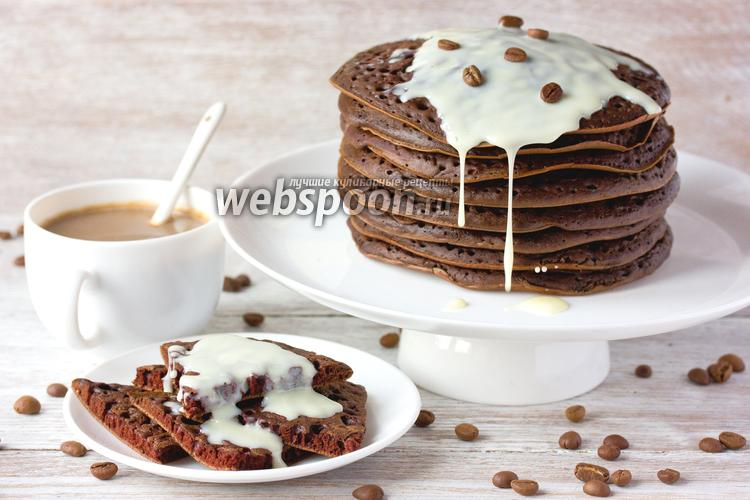 Рецепт Шоколадно-кофейные блины