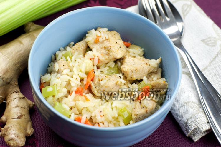 Рецепт Индейка с рисом и овощами