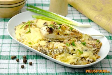 Пеленгас запечённый под сыром