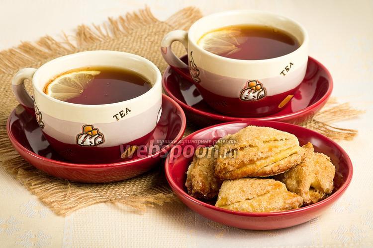 Рецепт Печенье «Творожные уголки»