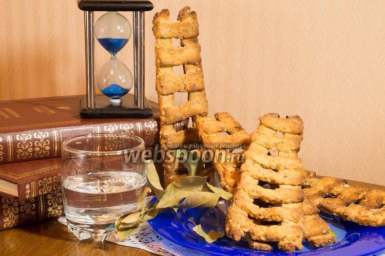 Фото Ореховое печенье «Вознесенские лесенки»
