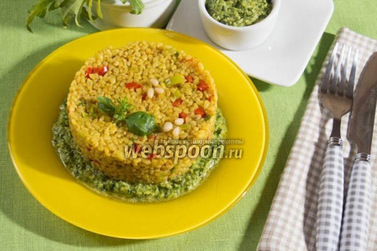 Фото Булгур с овощами