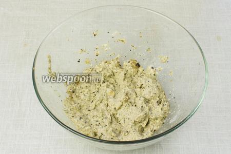 Блендером измельчить ингредиенты до состояния однородной массы.