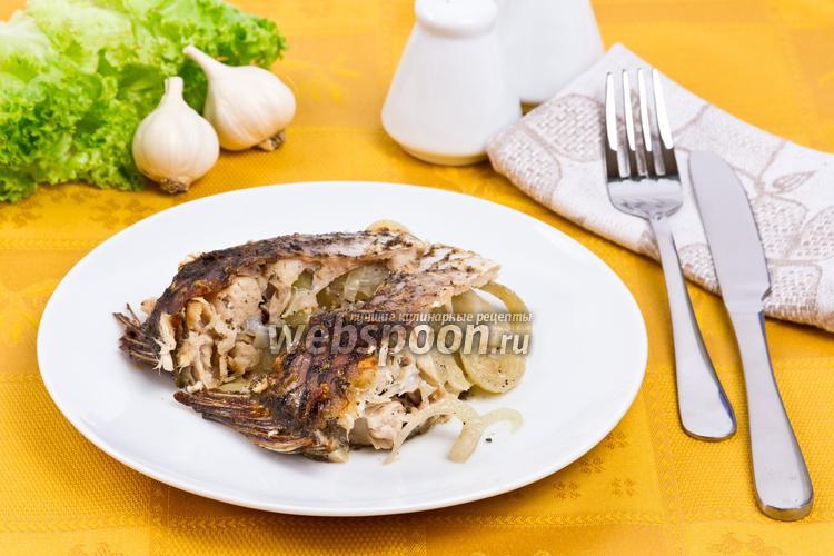 Рецепт Карп под сливками