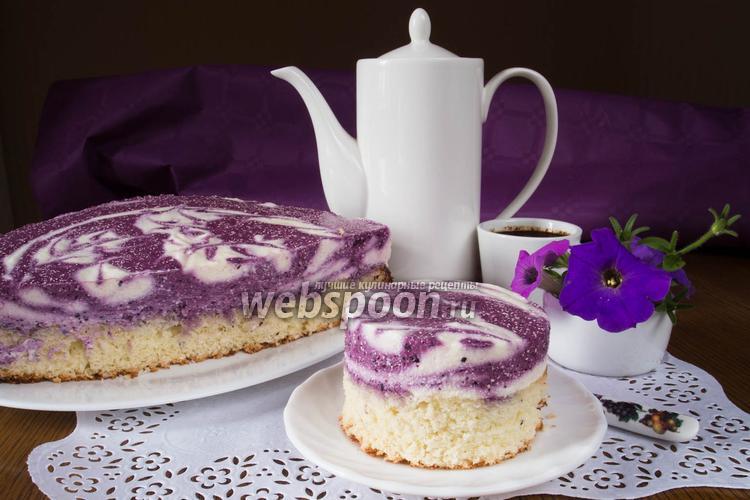 Фото Черничный торт