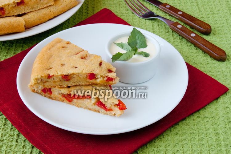 Фото Имбирный пирог с овощами