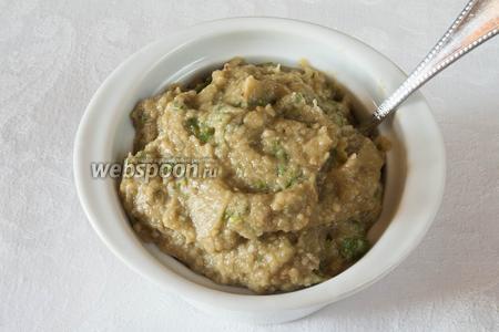 Готовую пасту можно подавать, полив оливковым маслом к лепёшкам, тостам, к отварным овощам.