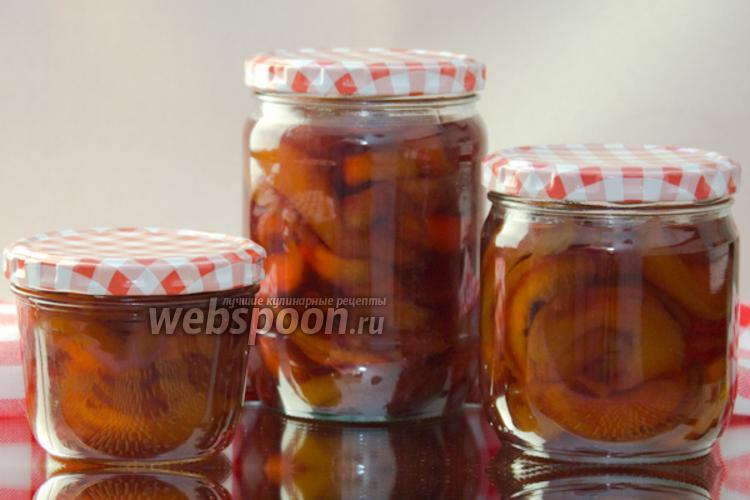 Фото Варенье из персиков на зиму