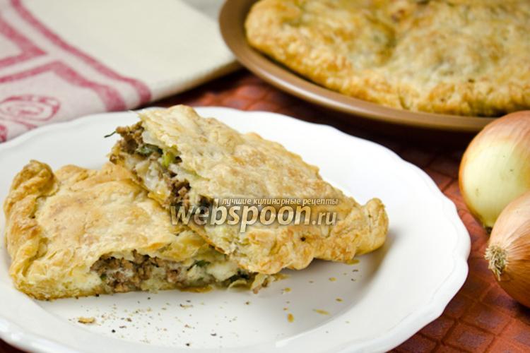 Фото Греческий пирог с мясом