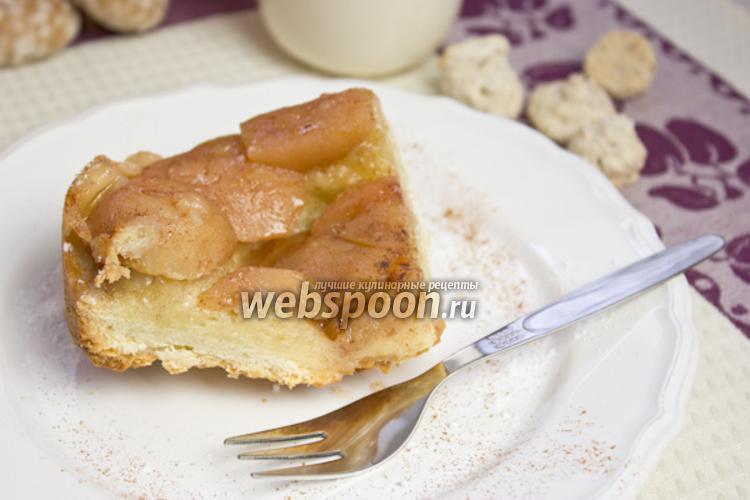 Фото Постный яблочный пирог