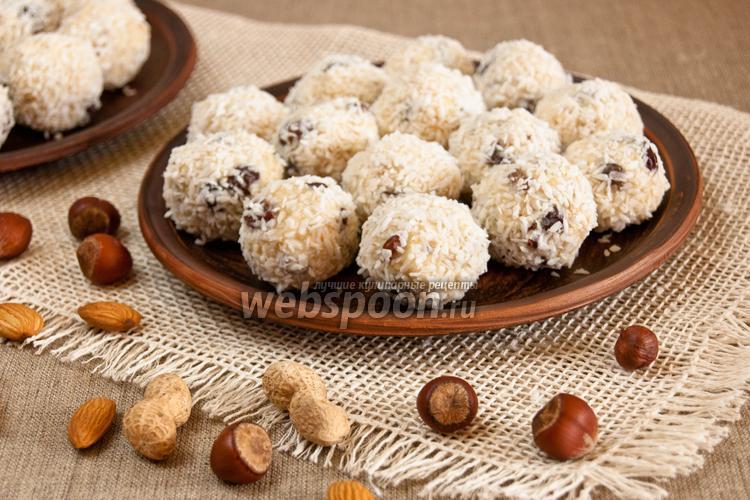Фото Молочно-ореховые шары