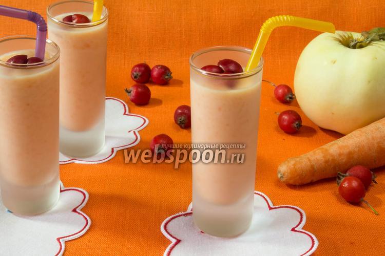 Рецепт Молочный кисель с морковью