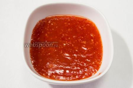 Остудить. Подавать соус к рыбе, морепродуктам или мясу.