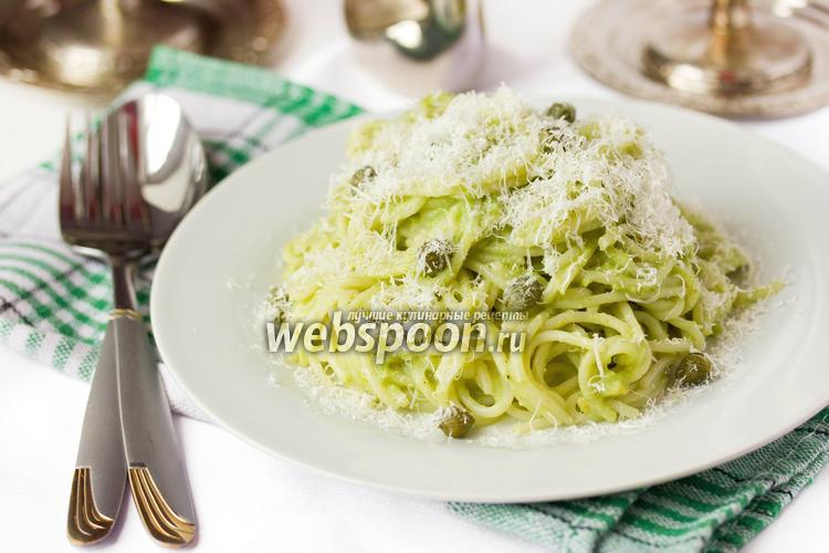 Фото Спагетти с авокадо