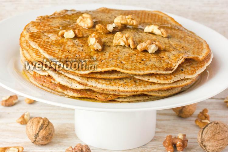 Рецепт Ореховые блины