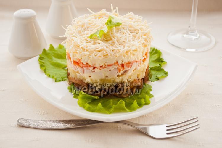 Рецепт Маринованные грибы под шубой
