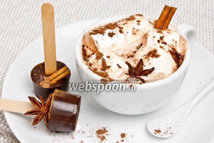 Фото Пряный шоколад на палочке