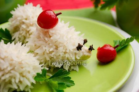 Тефтели ежики с рисом