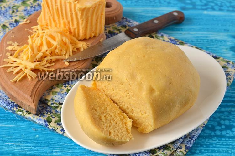 Рецепт Песочное тесто с сыром