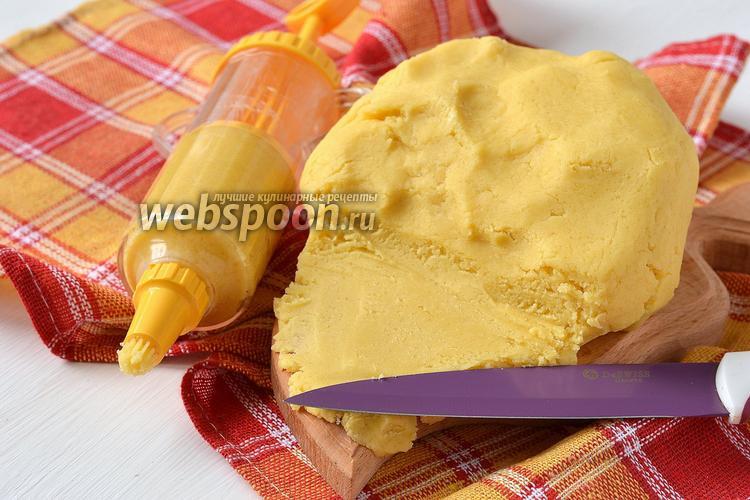 Фото Мягкое сладкое песочное тесто