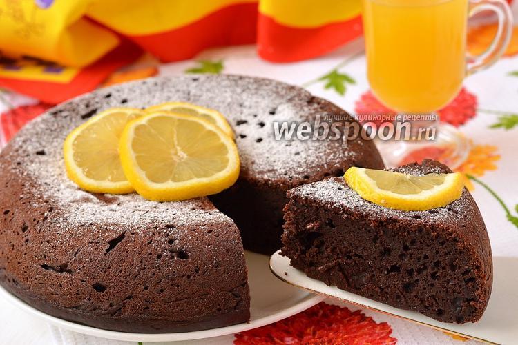 Рецепт Шоколадный бисквит на сметане в мультиварке