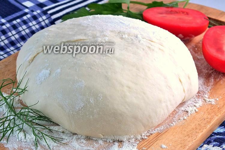 Рецепт Тесто для пиццы от Джейми Оливера