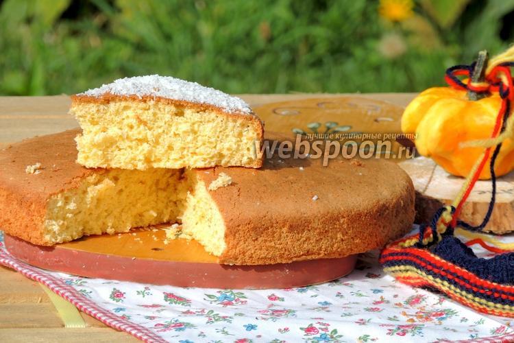 Рецепт Кокосовый бисквит